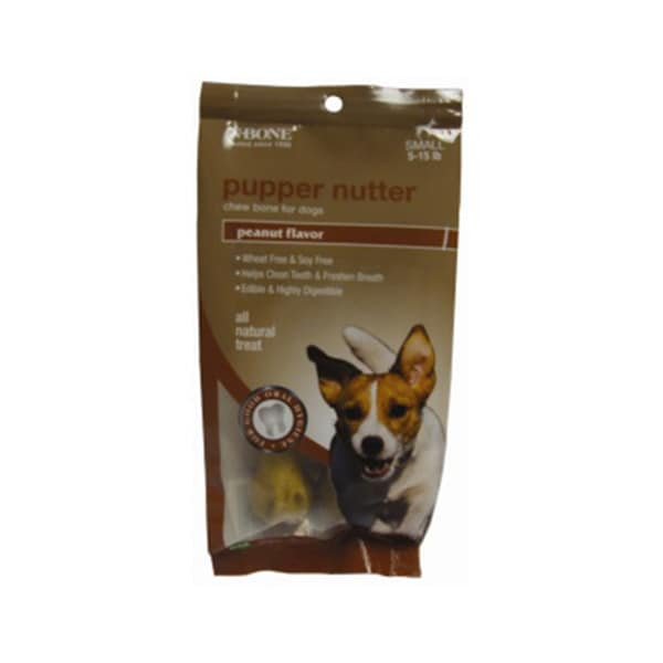 N-bone Small 1.4-ounce Pupper Nutter (Pack of 2) Chew Bone For Dogs