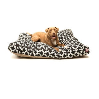 Majestic Pet Black Links Rectangle Pet Bed