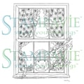 Stampavie Sarah Kay Clear Stamp-Sabine Watching The Snow Fall