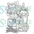 Stampavie Penny Johnson Clear Stamp-The Scent Of Sweet Memories