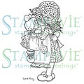 Stampavie Sarah Kay Clear Stamp-Best Friends Forever