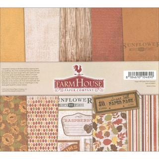 Sugar Hill Double-Sided Paper Pack 12X12in 10/Sheets-Autumn