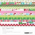 Mint Twist Paper Pad 6.5