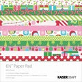 "Mint Twist Paper Pad 6.5""X6.5""-"