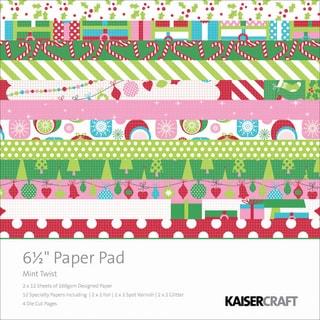Mint Twist Paper Pad 6.5