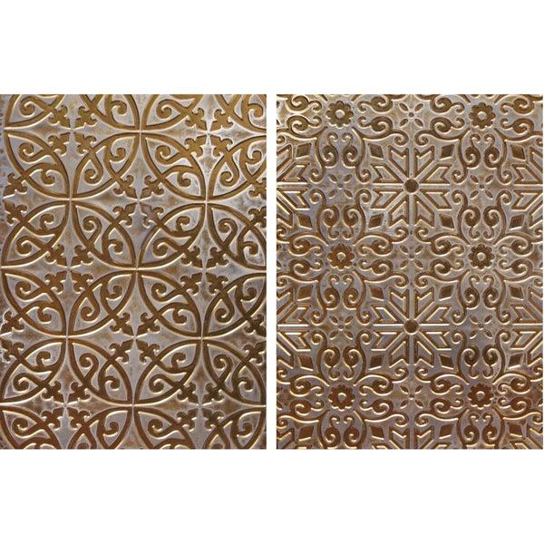 Spellbinders M-Bossabilities A4 Card Embossing Folder-Ornamental Iron