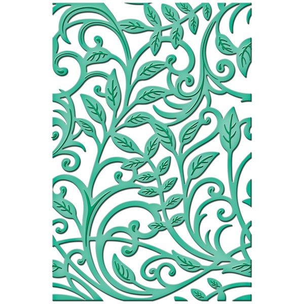 Spellbinders Shapeabilities Expandable Pattern Dies-Botanical Swirls