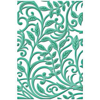 Spellbinders Shapeabilities Expandable Pattern Dies-Botanical Swirls