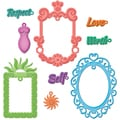 Spellbinders Shapeabilities Dies-Jewel Framed Sentiments
