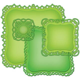 Spellbinders Nestabilities Decorative Elements Dies-Decorative Labels 1