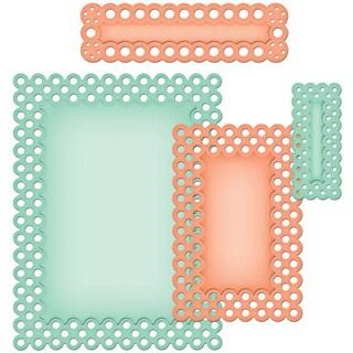 Spellbinders Nestabilities A2 Card Creator Dies-Polka Dots