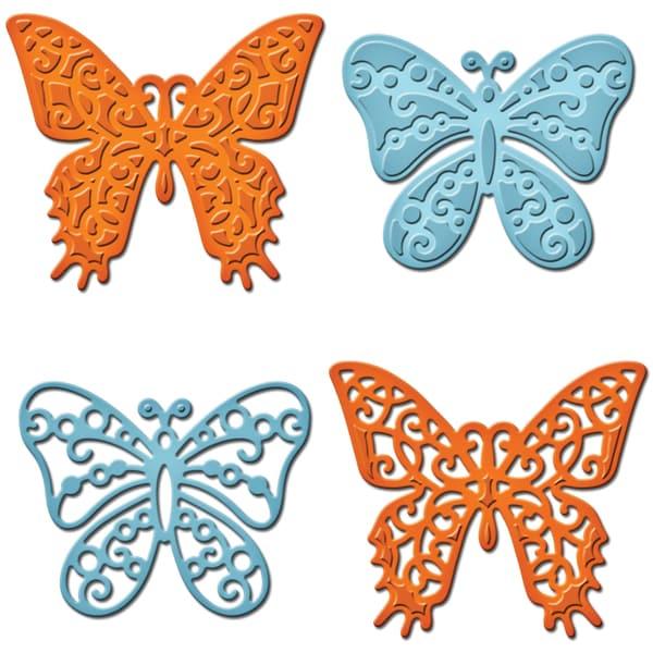 Spellbinders Shapeabilities Dies-Les Papillions