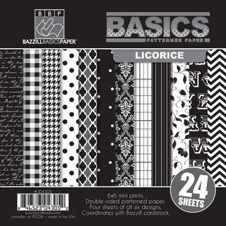 Basics/Licorice Multi-Pack Paper 6