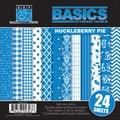 "Basics/Huckleberry Pie Multi-Pack Paper 6""X6"" 24/Sheets-6 Double-Sided Designs/4 Each"