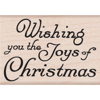 "Hero Arts Mounted Rubber Stamps 2""X1.5""-Joy Of Christmas"