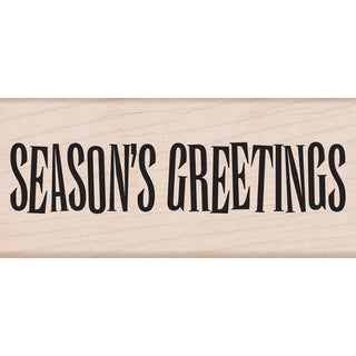 Hero Arts Mounted Rubber Stamps-Big Season's Greetings