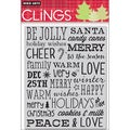 Hero Arts Cling Stamps-Be Jolly
