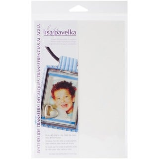 Lisa Pavelka Waterslide Transfer Set-Blank