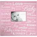 Baby Expression Post Bound Album 12&quot;X12&quot;-Pink