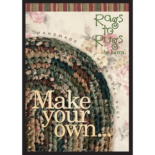 Make Your Own 'Rag Rug' By Lora DVD-1:20 minutes
