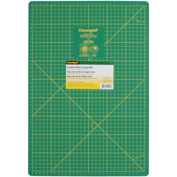 "Omnigrid Double Sided Mat Inches/Centimeters-12""X18"" 30cm X 45cm"
