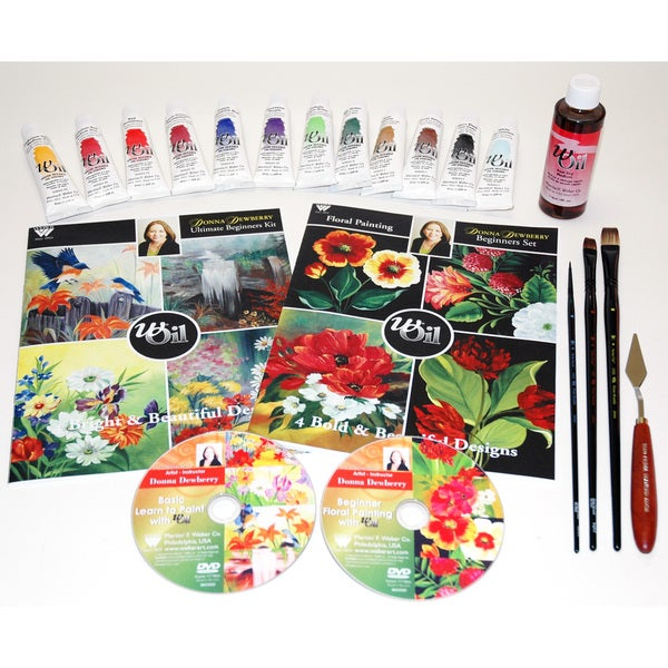 Dewberry Deluxe Painting Set with Oils