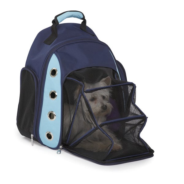 Casual Canine Blue Ultimate Backpack Carrier