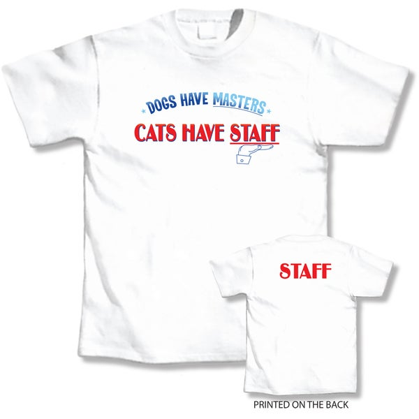 LA Prints 'Cats Have Staff' T-shirt