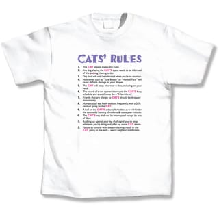 Cats' Rules T-shirt