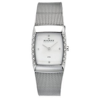 Skagen Women's Stainless Steel Crystal Watch