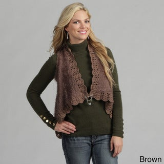 Tabeez Women's Open-front Cardigan Sweater
