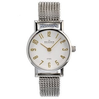 Skagen Women's Stainless Steel Mesh Band Watch