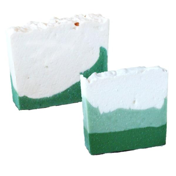 Mia's Wish White Gardenia and Coconut Lime Verbena 4.5-ounce Handmade Soap (Pack of 2)