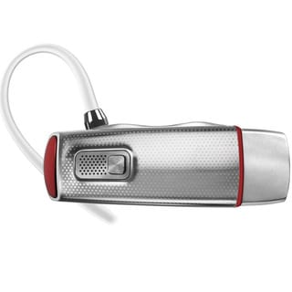 Motorola Elite Flip Silver Bluetooth Headset