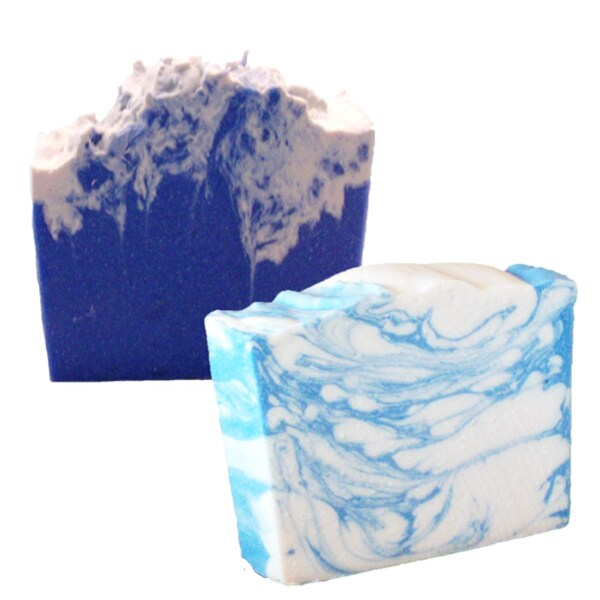 Mia's Wish Cool Water Type and Ocean's Wave 4.5-ounce Handmade Soap (Pack of 2)