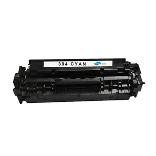 HP 304A Cyan Compatible Toner Cartridge for Hewlett Packard CC531A (Remanufactured)