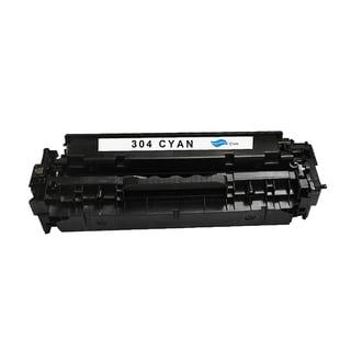 HP 304A Cyan Compatible Toner Cartridge for Hewlett Packard CC531A (Remanufactured)