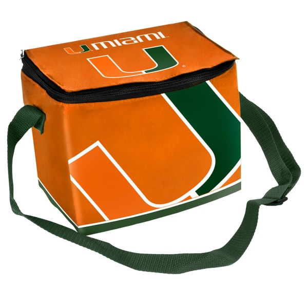 NCAA Full-Zip Polyester Lunch Cooler