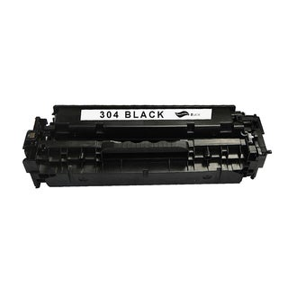 HP 304A Black CompatibleToner Cartridge for Hewlett Packard CC530A (Remanufactured)