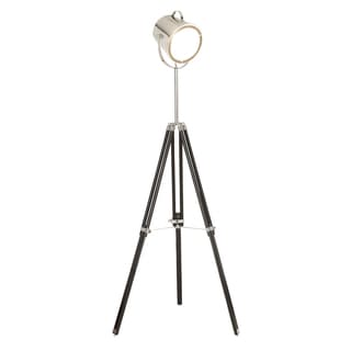 Industrial Adjustable Studio Tripod Floor Lamp