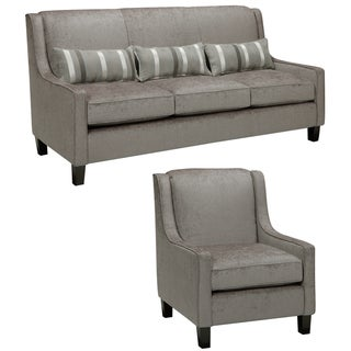 Austin Cream Sofa And Chair Overstock Shopping Great Deals On Sofas Loveseats