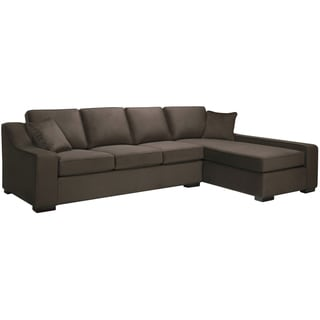 Presley Dark Brown Sectional Sofa
