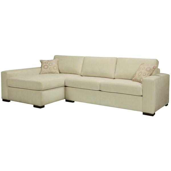 Bennett Cream Sectional Sofa
