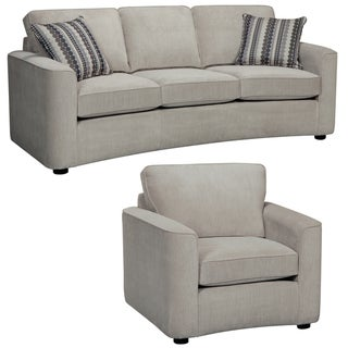 Marley Light Gray Sofa and Chair