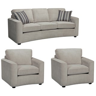 Marley Light Gray Sofa and Two Chairs