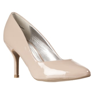 Riverberry Women's 'Deluxe' Nude Pointed Toe Heels