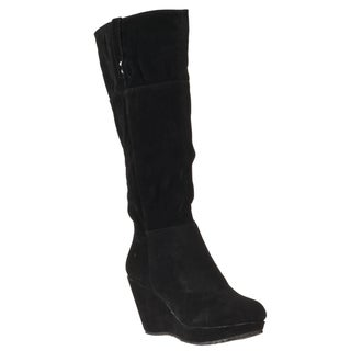 Riverberry Women's 'Hush' Black Knee-high Boots