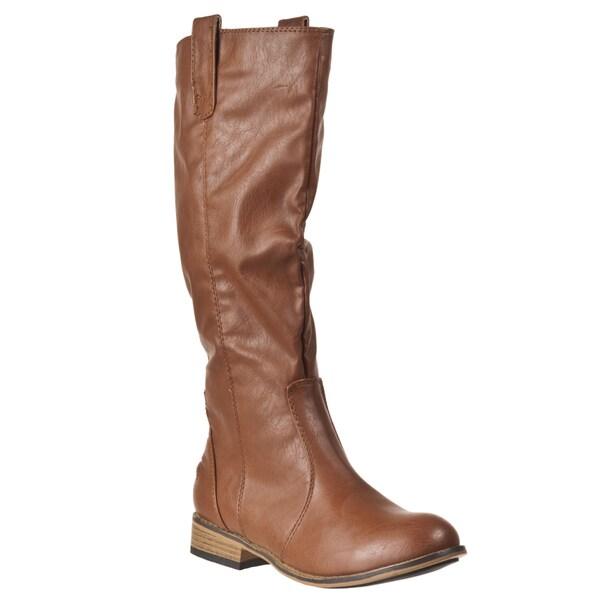 Riverberry Women's 'Parksville' Chestnut Boots