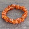 Carnelian 'Sunny Muse' Stretch Bracelet (India)