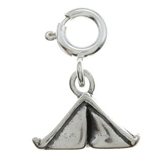 Sterling Silver Tent Charm